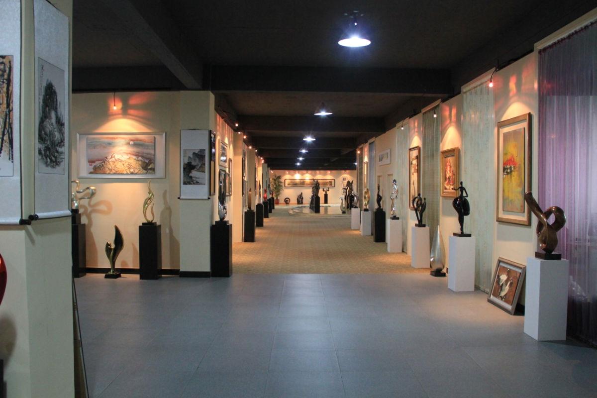 工艺品展厅设计效果图